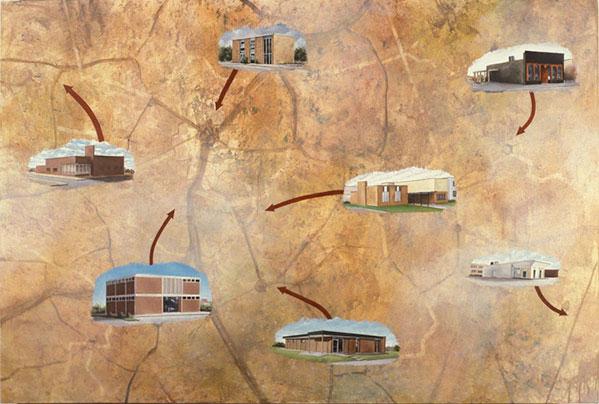 7 Convenient Locations, David Lefkowitz, 1994