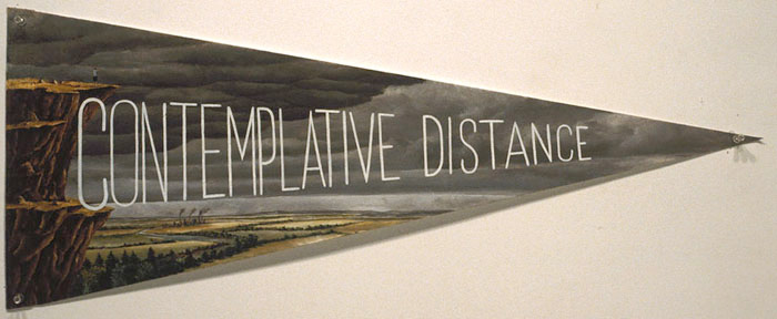 Contemplative Distance, David Lefkowitz, 1993