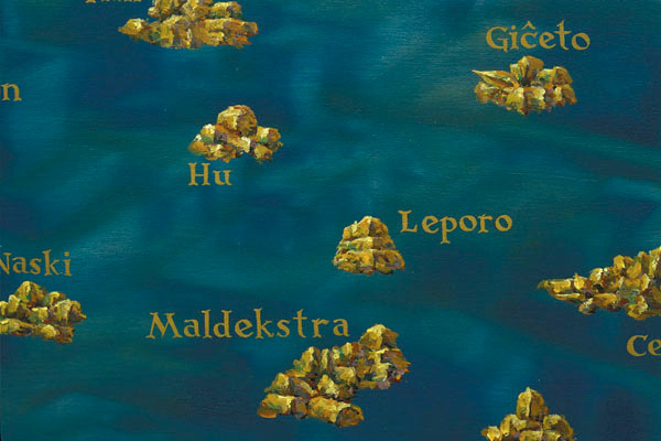 The Maldekstra Region (detail), David Lefkowitz, 2004