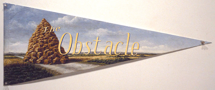 The Obstacle, David Lefkowitz, 1993
