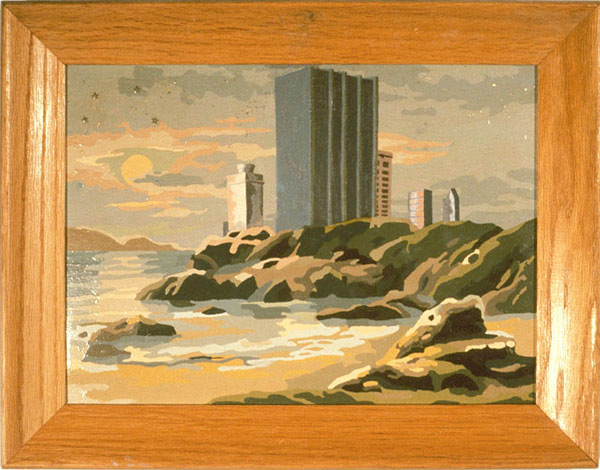 The Towers at Craggy Shoreline, David Lefkowitz, 1994 and circa 1960