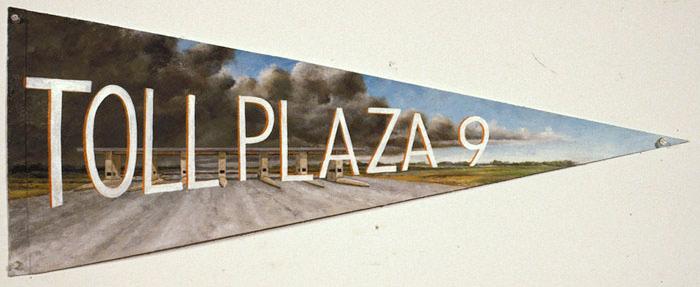 Toll Plaza 9, David Lefkowitz, 1998