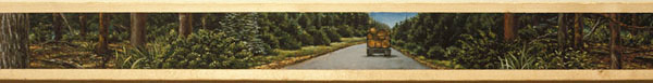Scenic Route (detail), David Lefkowitz, 1993