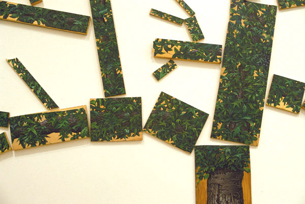 Silviculture (detail), David Lefkowitz, 1997