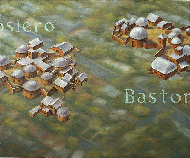 Dosiero and Bastono, David Lefkowitz, 2004