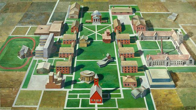 Land Grant Campus, David Lefkowitz, 2001