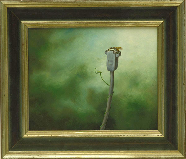 Flora: Introduced Species #10, David Lefkowitz, 1996