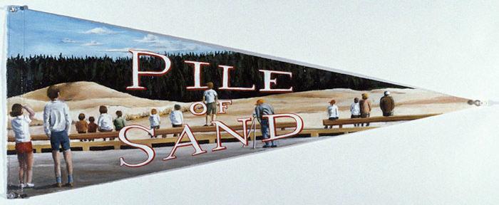 Pile of Sand, David Lefkowitz, 1991