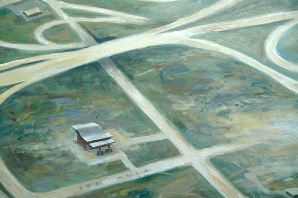 Outlying Area (detail), David Lefkowitz, 2001