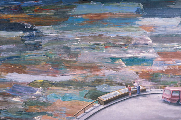 Scenic Overlook (detail), David Lefkowitz, 1996
