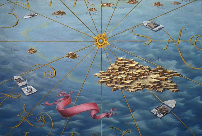 The Fazeolo Archipelago, David Lefkowitz, 2004