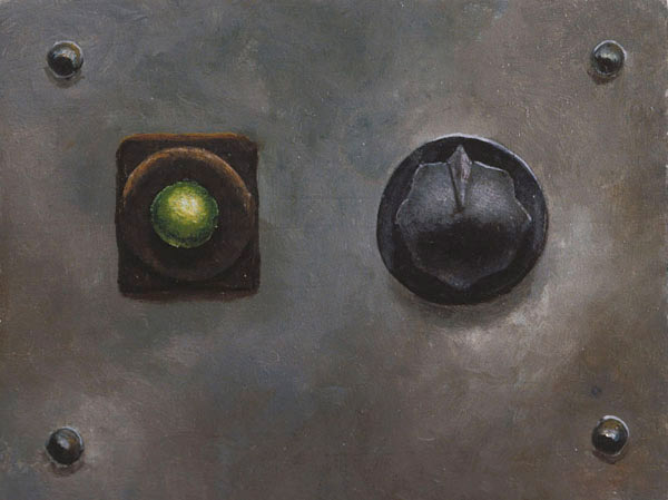 Green Light and Knob, David Lefkowitz, 1993