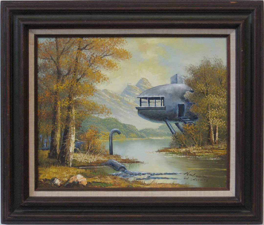 Lake Cabin, David Lefkowitz, 2007 and ?