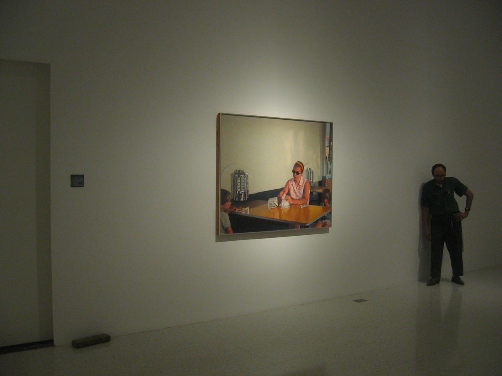 Lifelike installation (with Bechtle and Hanson), Walker Art Center, Minneapolis, MN, David Lefkowitz, 2012