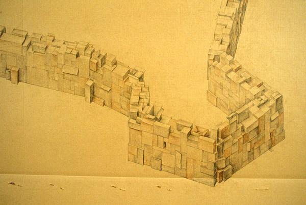 Perimeter (detail), David Lefkowitz, 2001
