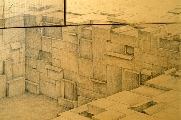 Redoubt (detail), David Lefkowitz, 2002