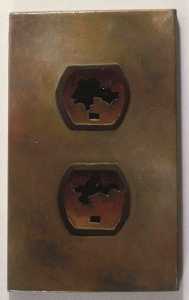 Wall Socket #B-2, David Lefkowitz, 1991