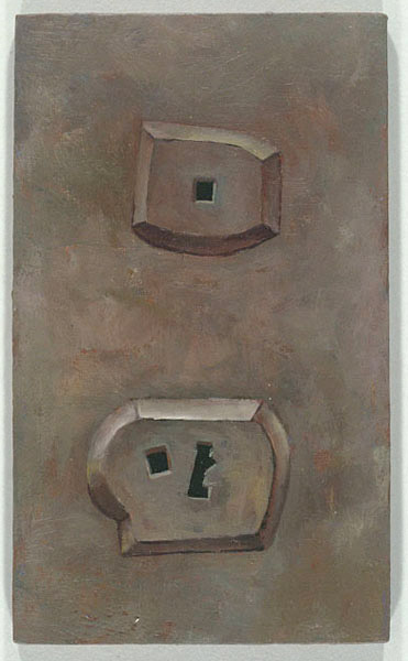 Wall Socket #4-01, David Lefkowitz, 2001