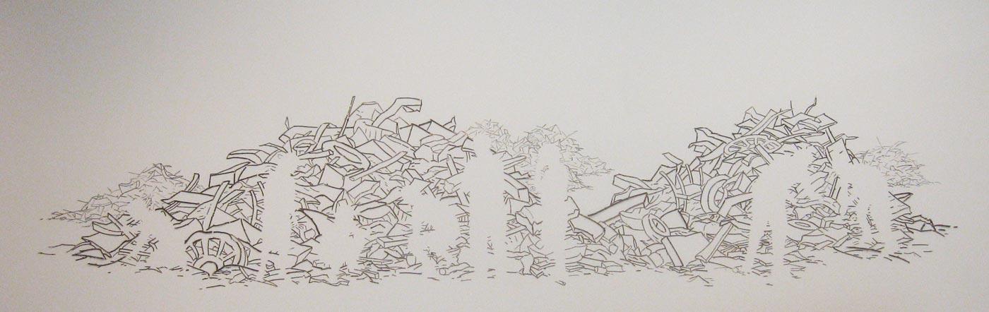 Debris Pile, David Lefkowitz, 2009