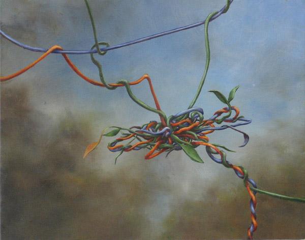 Tangle #13, David Lefkowitz, 2007