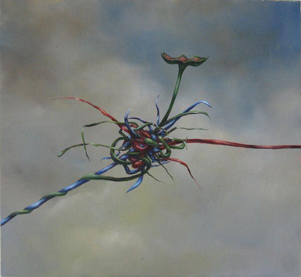 Tangle #7, David Lefkowitz, 2007