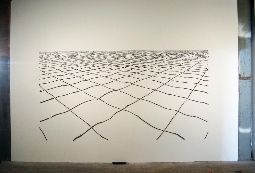 Topographical Matrix, David Lefkowitz, 2008