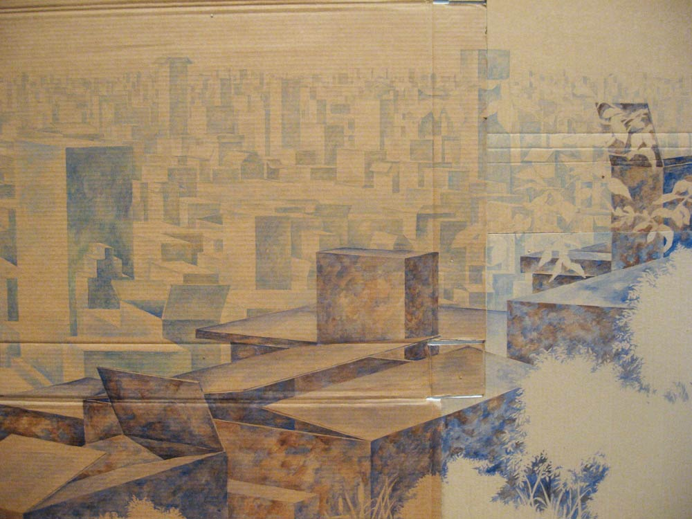 Vista (detail), David Lefkowitz, 2011