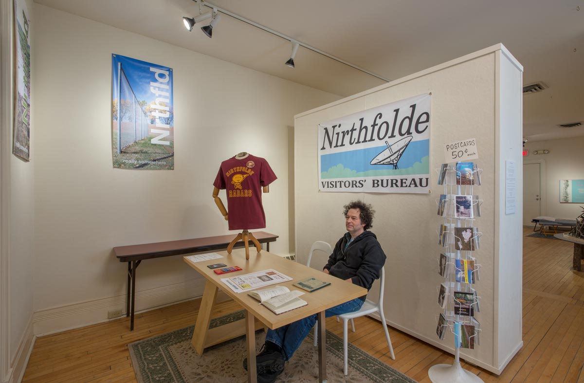 Nirthfolde Visitors' Bureau, Information Vestibule, David Lefkowitz, 2013