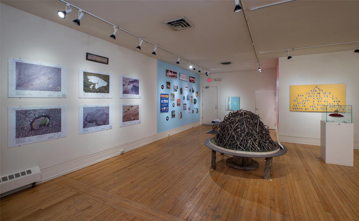 Nirthfolde Visitors' Bureau, installation view 1, David Lefkowitz, 2013